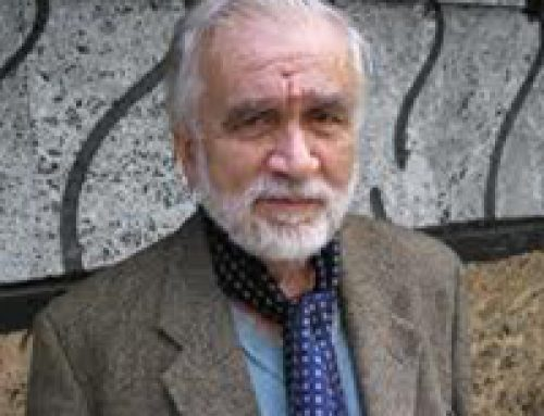 Bulgarian poet Lyubomir Levchev, the recipient of the Golden Wreath in 2010, died