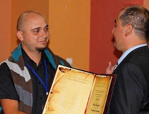 """""""Enhalon"""" award for Mane Manushev"""